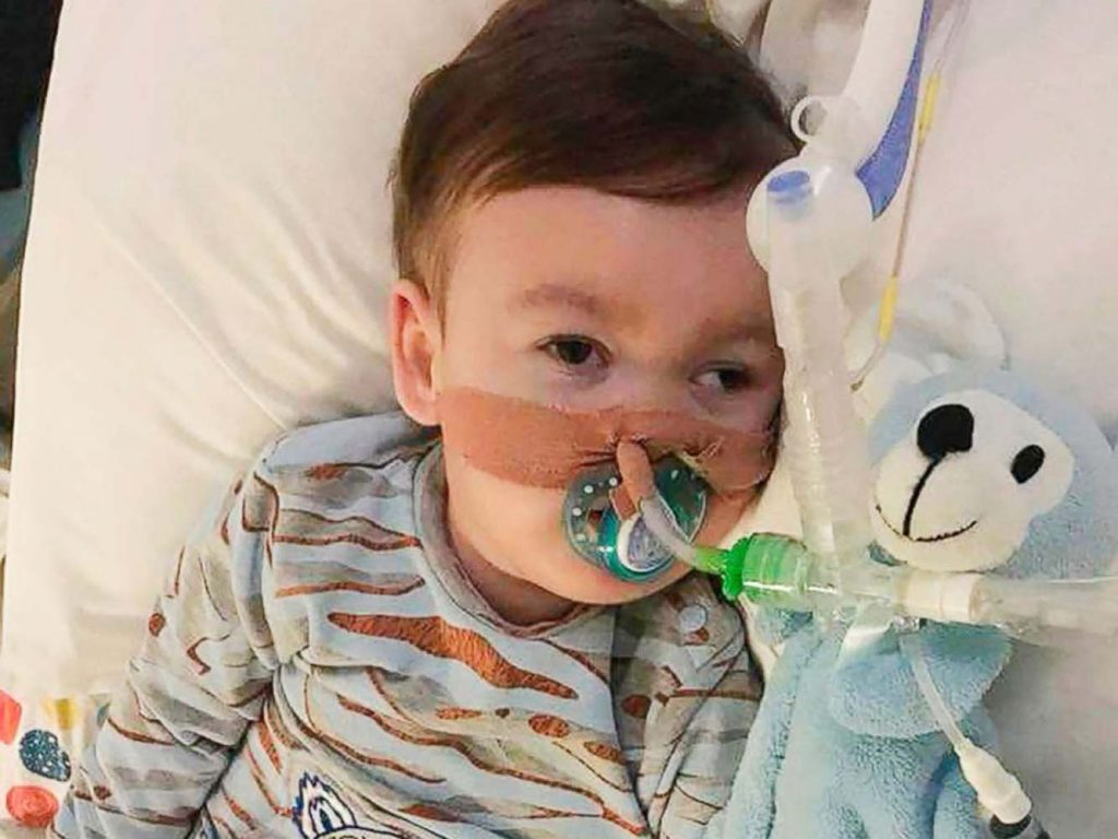Alfie Evans legal conflict toddler dies