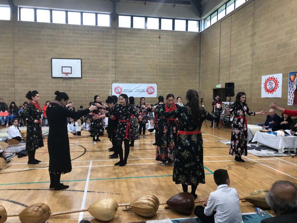 Cem held at Alevi Cultural centre in Wales
