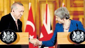 Erdoğan ile May biraraya geldi
