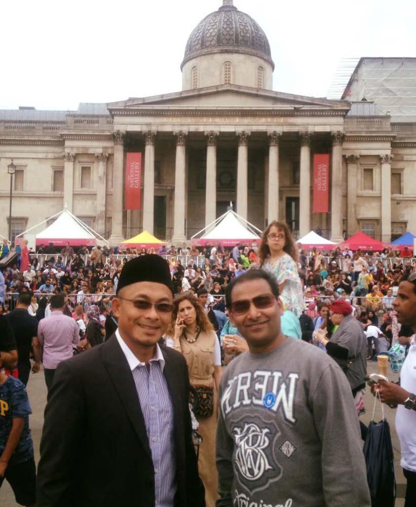 Londralı Müslümanlar festivalde buluştu