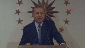 Erdoğan: Milletimiz şahsımıza cumhurbaşkanlığı vazifesini ve yürütme görevini tevdi etti
