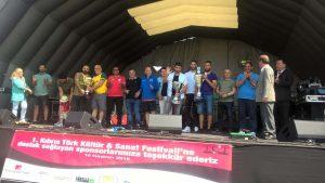 Kıbrıs Festivali'ne şampiyonlar da katıldı