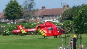 Boy stabbed in east London