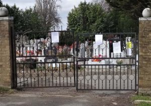 Tottenham Park Mezarlığı Lordlar Kamarasında konuşuldu