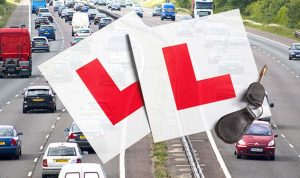 Learner drivers authorised on motorways