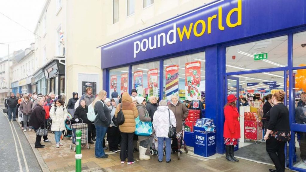Poundworld putting thousands of jobs at risk
