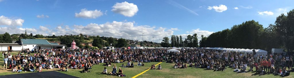 Bayram tadında bir festival