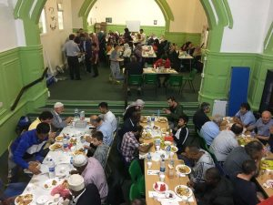 New Peckam mosque hosts iftar