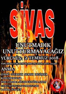 Commemoration even for Sivas massacre