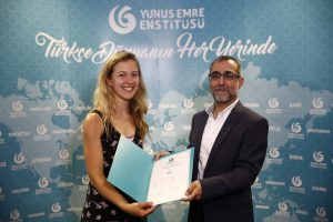 Turkish course certificate ceremony in London