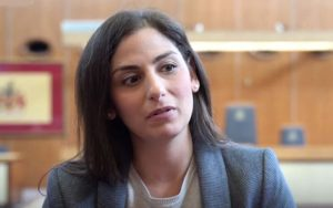 Nesil Çalışkan lobbies Justice Department for action on cemetery