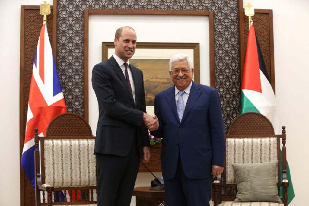 Prens William, Mahmud Abbas ile görüştü