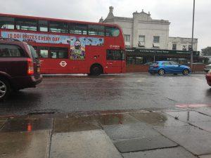 Londra'da beklenen yağmur…