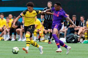 Dortmund, Liverpool'u rahat yendi: 3-1