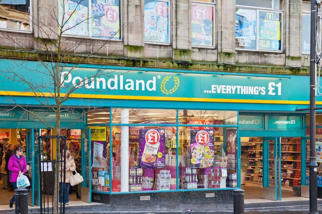 Poundland 25 mağazasını kapatıyor