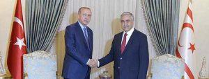 Erdoğan'dan KKTC ziyareti
