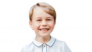 Prens George 5 yaşında