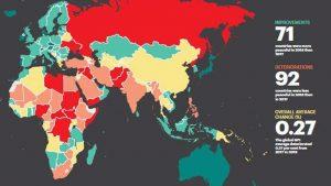En güvenli ülkeler arasında Türkiye 149. oldu