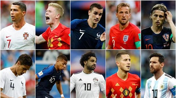 FIFA, yılın futbolcu adaylarını açıkladı
