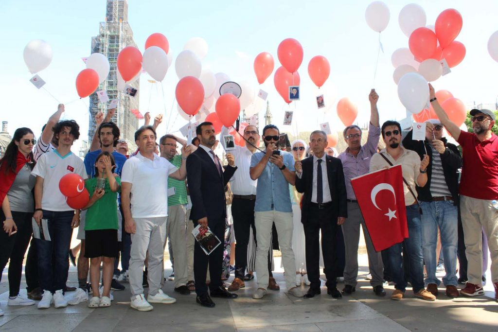 July 15 commemorated in London