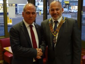 Rotary kulubü yeni başkanı Enver Kannur oldu