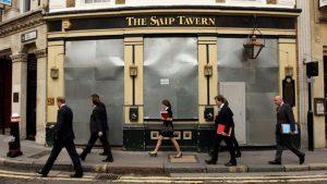 London's pub industry in decline