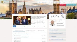 T.C Londra Konsolosluğu 'web adresi' değişti