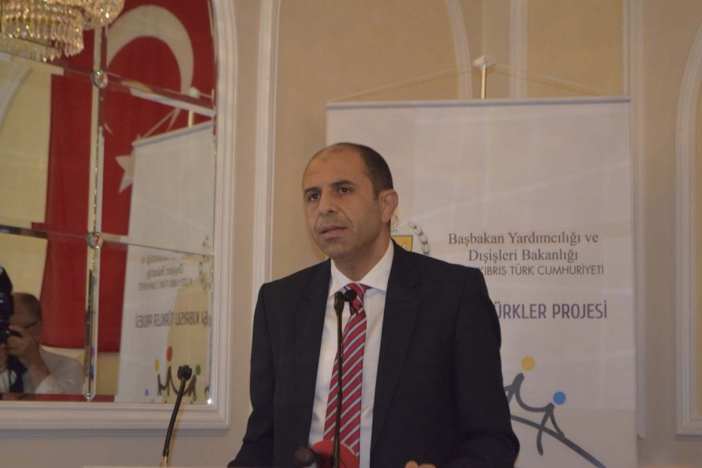 """Kudret Özersay: """"We are embarrassed and apologise to you"""