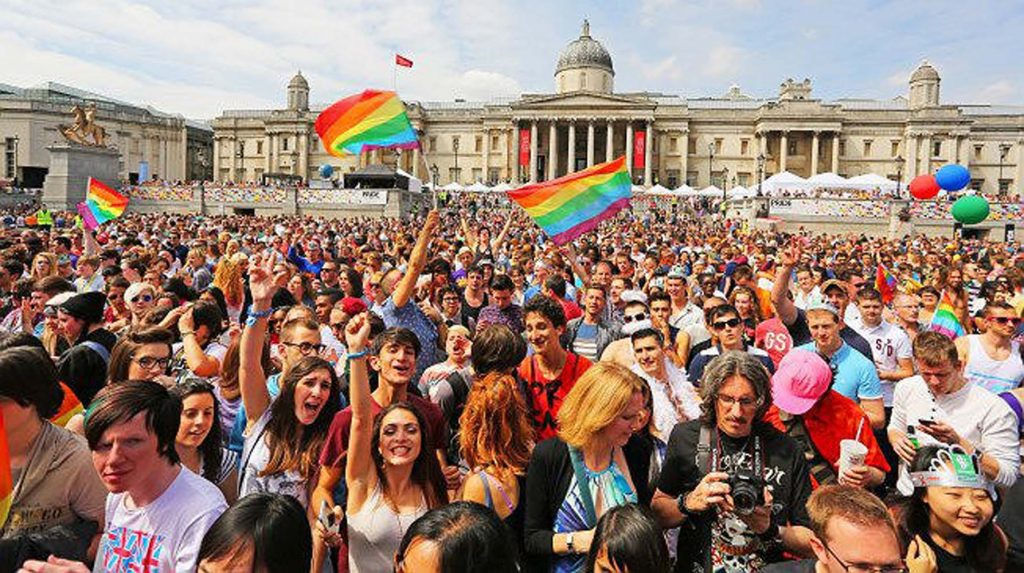 Hundreds and thousands attend London Pride parade