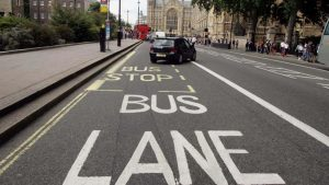 Increased fines for driving on bus lanes