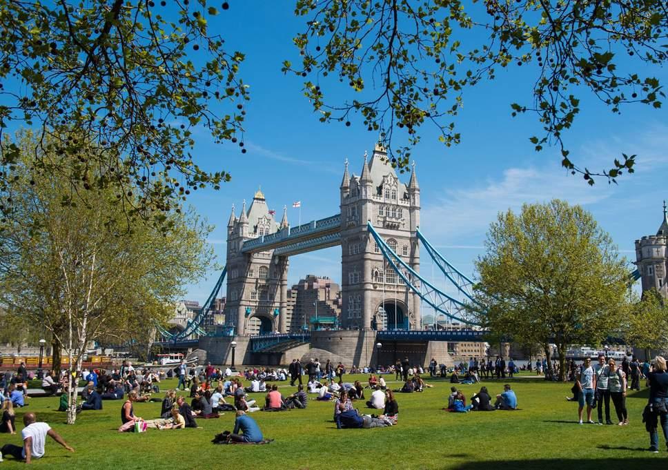 Londra'da hava sıcaklığı 18 dereceye yükselecek