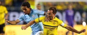 Dortmund, Manchester City'yi 1-0 yendi