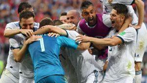 Rusya, penaltılarla İspanya'yı eledi