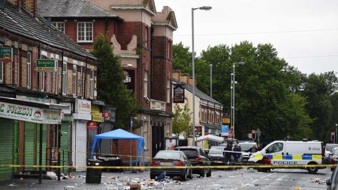 Manchester'da karnavala silahlı saldırı: 10 kişi yaralı