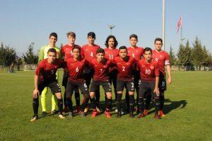 Türkiye U16, St. Georges's Park Turnuvası'nda