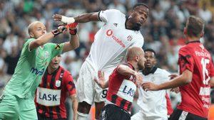 Beşiktaş 1-0 galip, Başakşehir 0-0 berabere