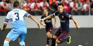 Arsenal, Lazio'yu yıktı!