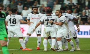 Beşiktaş için kolay oldu: 6-0