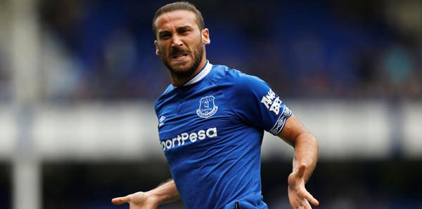 Everton'a Cenk'in golü yetmedi
