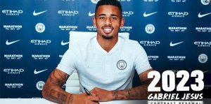 City, Gabriel Jesus'un sözleşmesini uzattı