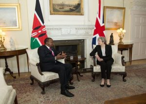 "May: ""Kenya'yla serbest ticareti sürdürmeye kararlıyız"""