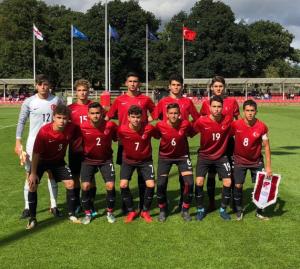 U16 Milli Takımı, İngiltere'ye 2-1 yenildi