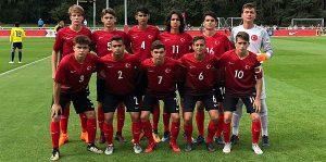 Türkiye U16, İskoçya'ya 2-0 galip