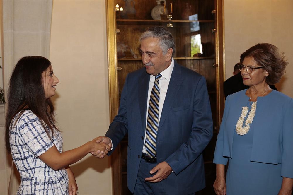 Enfield Belediye Lideri Çalışkan, Akıncı'yı ziyaret etti