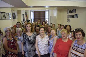 TWPA organises a farewell party for Zehra Başaran
