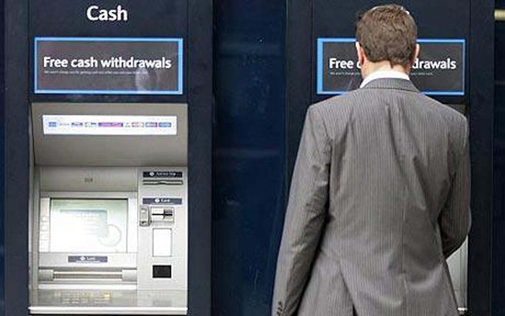 Increase of almost 60 percent of thefts at ATMS