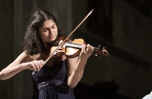 Young violinist wins third place in Italy
