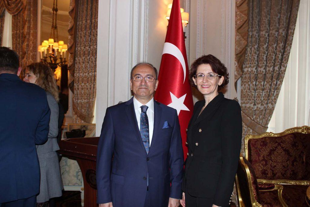 Büyükelçilikten 30 Ağustos Resepsiyonu