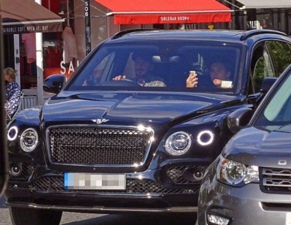 David Beckham Londra'da aracı yüzünden davalık oldu