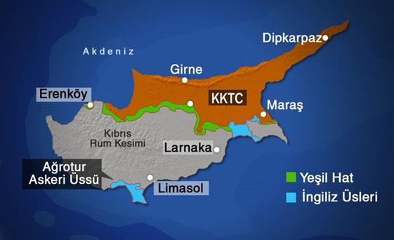 """""""Kıbrıs'taki İngiliz üsleri, Brexit'in ardından AB statüsünde kalıyor"""""""